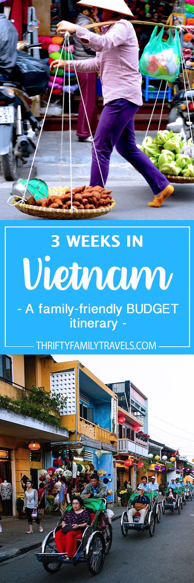 Budget family travel for your trip to Vietnam | www.thriftyfamilytravels.com Research the Halong Bay Mob.