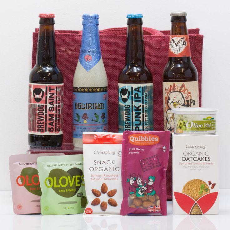 Craft Beer & Bites Bag from Natures Hampers