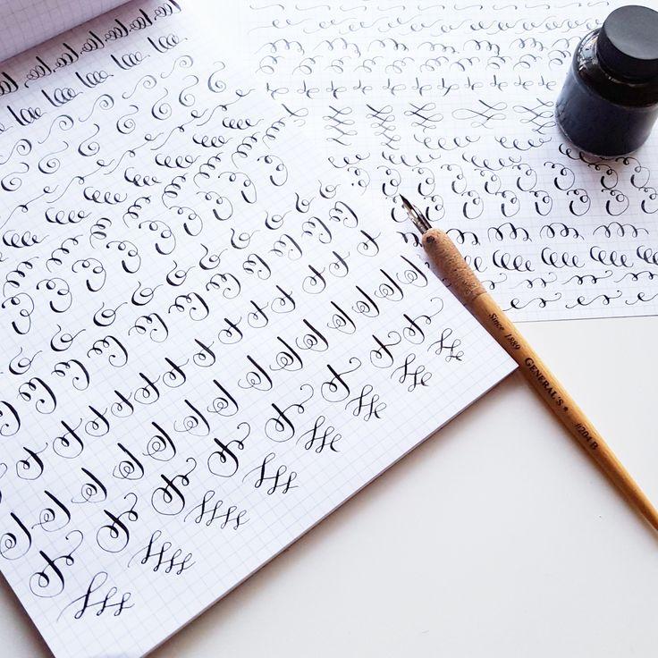 Best beginner lettering tips images on pinterest