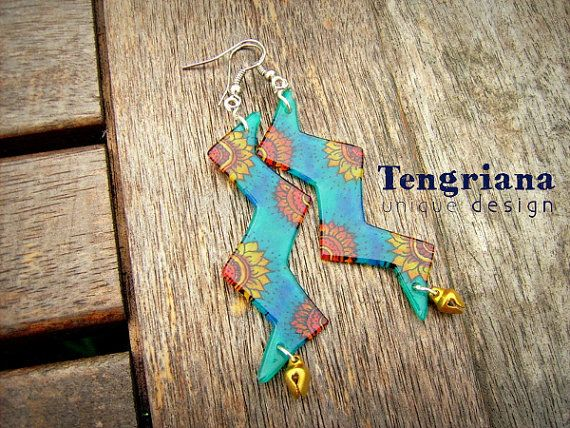 Floral Lightning Collection by @Tengriana on @Etsy #uniquejewelry #sunflower #flamenco
