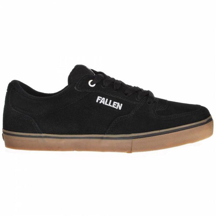 Fallen - Mission Black Gum Shoes