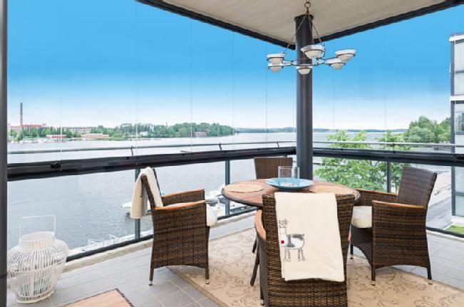 Ratinanrannassa valoisa, upea ja ainutlaatuinen asunto kaupan. #pirkanmaa #arvotalot