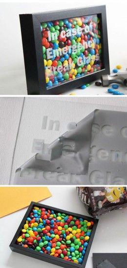 DIY Home Decor Ideas on a Budget http://30minutecrafts.com/2014/08/emergency-chocol...