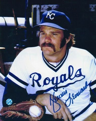 Autographed Dennis Leonard Kansas City Royals 8x10 Photo