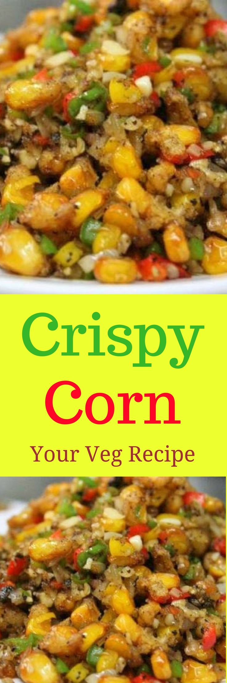 For all the food lovers, indulge in this simple and tasteful Crispy Corn recipe. Crunchy corn topped with some garlic, onions and sauces is the best of one could possibly desire for. If you crave for tasty food, if you don't mind having something fried once in a while or if you love fried corn, we are sure you cannot miss this.