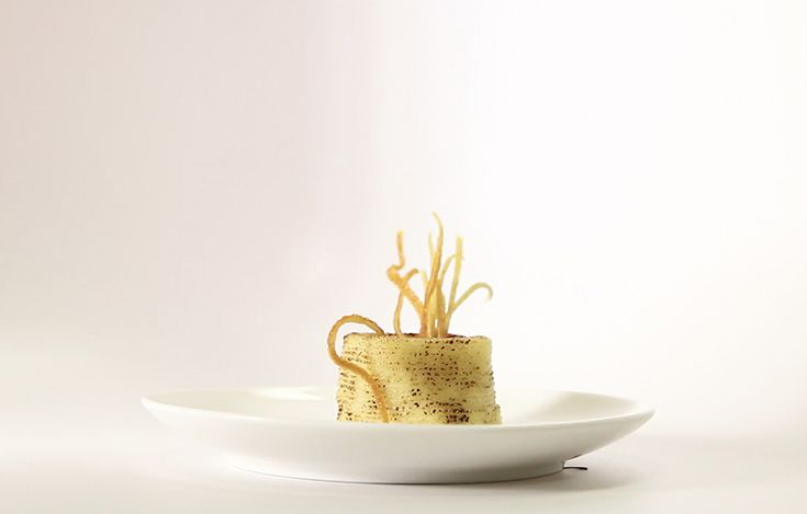 Små delikate 3D-printede måltider kan finde anvendelse som diætmad, da…