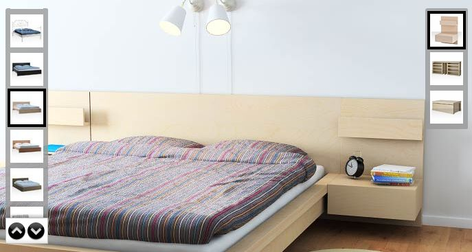 Ikea Bedroom Leirvik Hemnes Is Creative Inspiration For Us: Ikea Malm - King Size With Nightstands