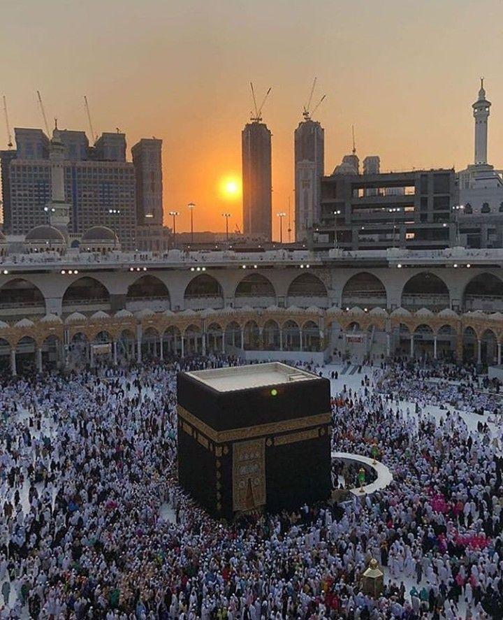Mekkah Almukarramah Mekah Arsitektur Masjid Gambar Kota