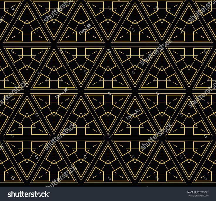 Hipster background. Geometric seamless pattern.