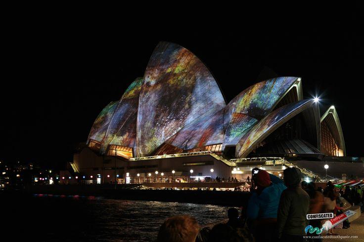Sydney Harbour Illuminated ---> http://www.confiscatedtoothpaste.com/sydney-harbour-illuminated-sydney-vivid-festival-2014-photos/
