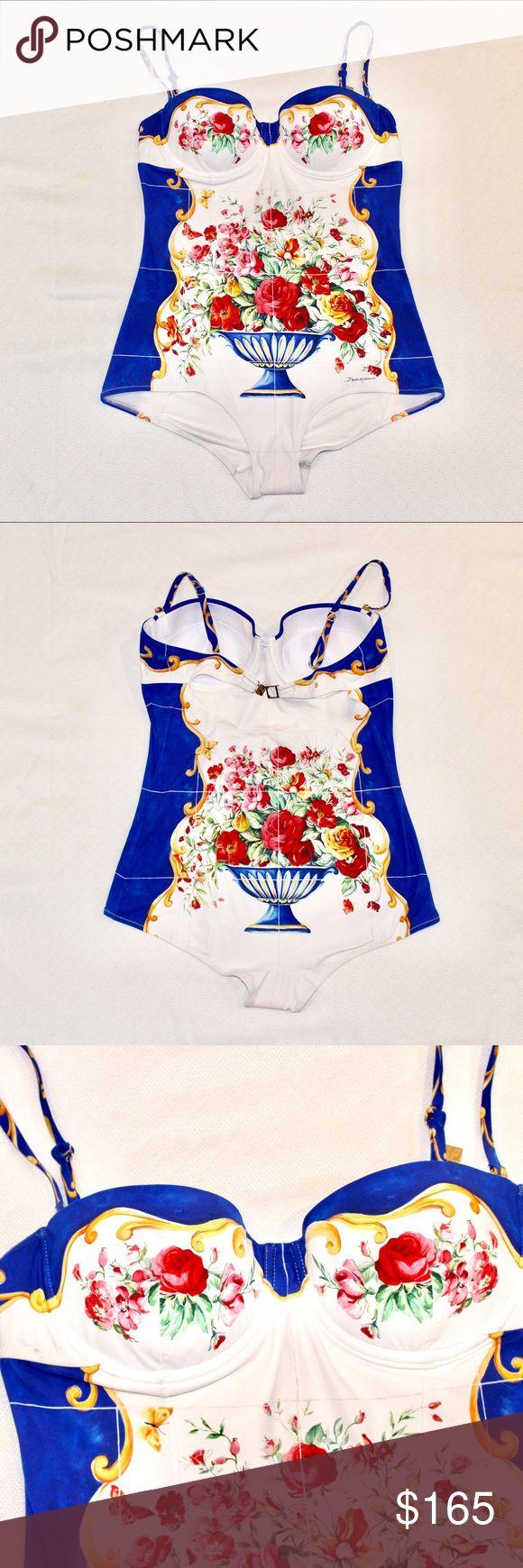 Dolce & Gabbana fruit basket one piece NWOT Dolce & Gabbana Swim One Pieces