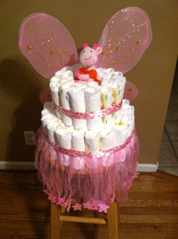 17 Best Images About Fairy Diaper Cake On Pinterest All