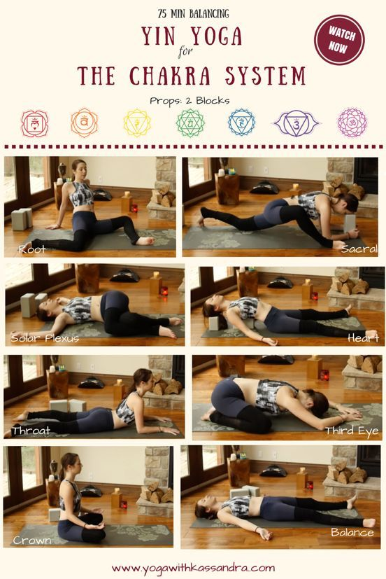 Yin Yoga Poses For The Chakras From The Root Chakra All