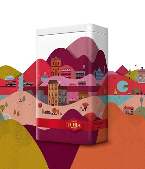 Illustrations by Lotta Nieminen, Something either crackers, cookies, biscuits (I think) #packaging PD