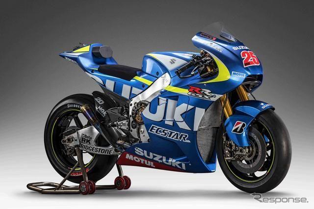 【大阪モーターサイクルショー15】スズキ、MotoGP参戦車両 GSX-RR を出品 http://dlvr.it/8xbP47 #responsejp