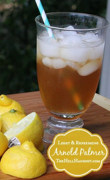Arnold Palmer: The Ultimate Summertime Drink by TheHillHangout.com