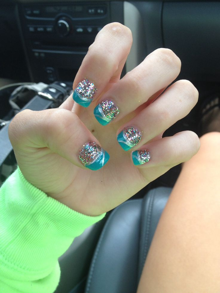 7 best Hoco nails images on Pinterest | Homecoming nails, Homecoming ...