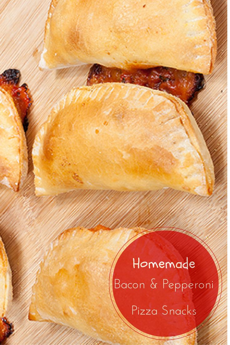 Kids love Pizza Snacks? Make your own at home with this tasty recipe!