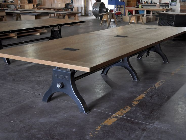 Best Habourton Images On Pinterest Commercial Arredamento And - Conference table bases wood