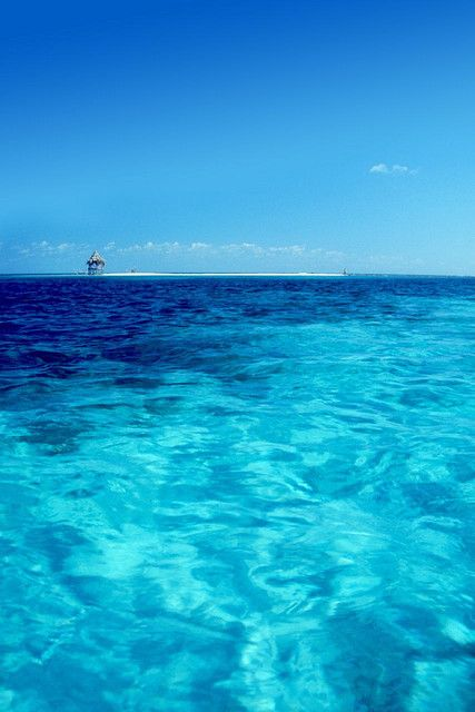Sand bar, Glovers Reef, Belize
