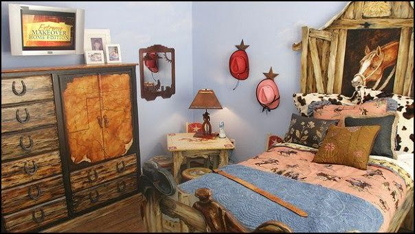 Cowboy Theme Bedrooms-cowboy Themed Bed-theme Beds