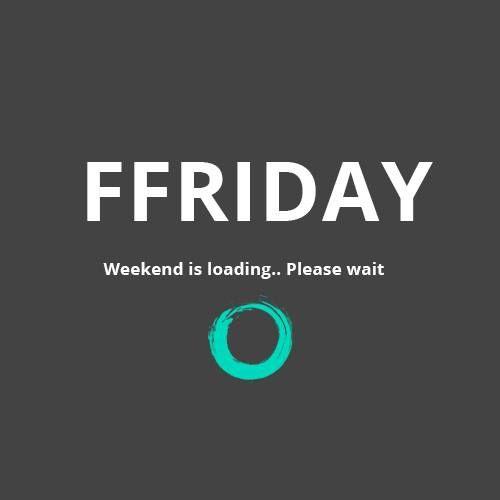 Bijna weekend!