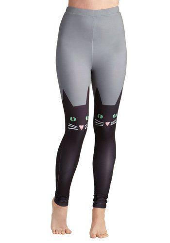 Hook, Feline, and Sinker Leggings, #ModCloth
