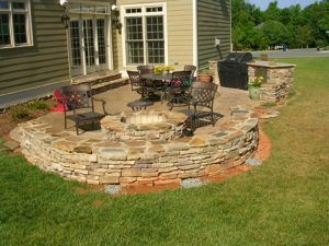 1000+ images about firepit & pergola ideas on pinterest | fire  outdoor fire pit area Gorgeous outdoor fire pit area