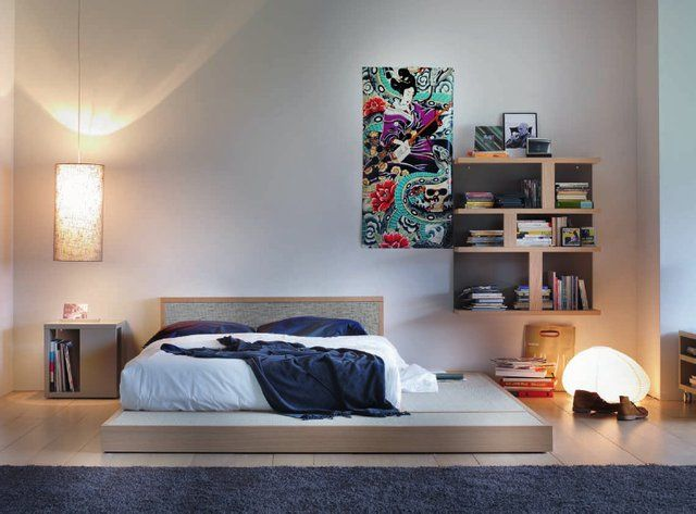 Les 24 meilleures images du tableau tatami beds bedrooms for Chambre type japonaise