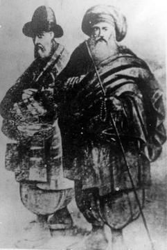 Abdul Qadir Al Geylani and Ahmed er Rifai - Pirs of the Ansari Sufi Order