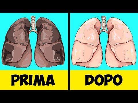 10 alimenti che aiutano i fumatori a depurare i polmoni - YouTube