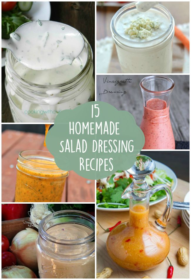 I love eating salads! When I eat them though, I like a little variety, so why not start with the dressing? The dressing can make a good salad even better, so I really wanted to try and make some of my own! Well, I pulled together some amazing recipes that I think everyone (including myself!) …