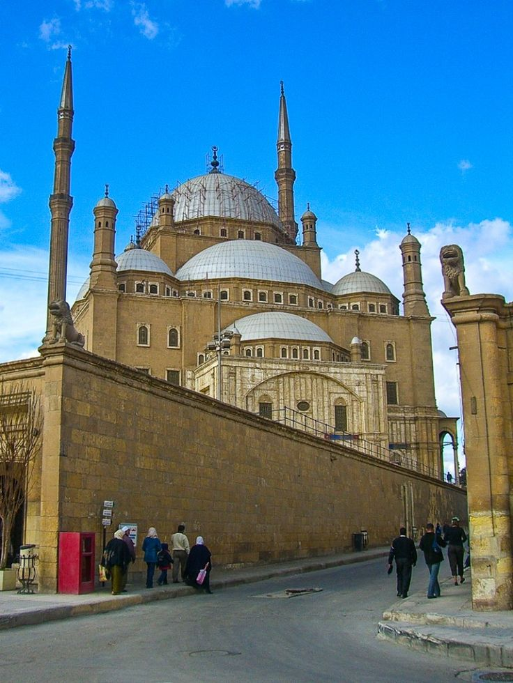 Mosque of Muhammad Ali - Cairo, Egypt