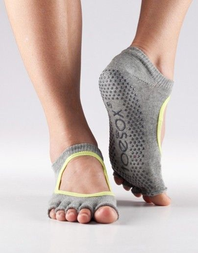 ToeSox - Half-Toe Bella Footwear. Yoga and Pilates Clothing Shop Hugger Mugger.