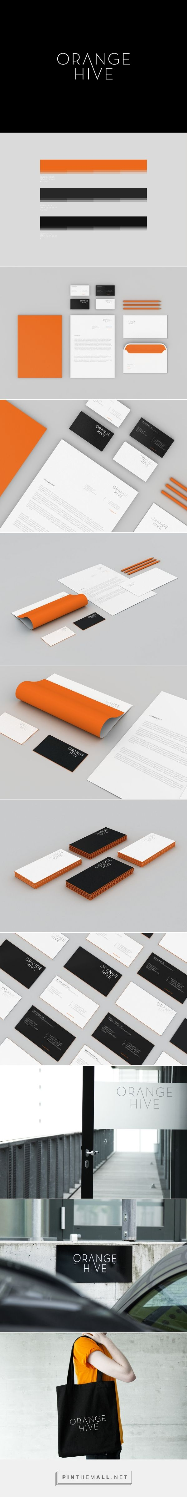 Orange Hive on Behance | Fivestar Branding – Design and Branding Agency & Inspiration Gallery
