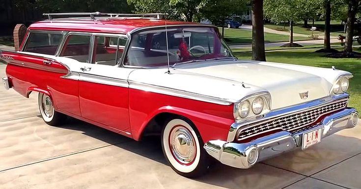 1959 Ford Nation Sedan – Station Wagon – Video Walkaround