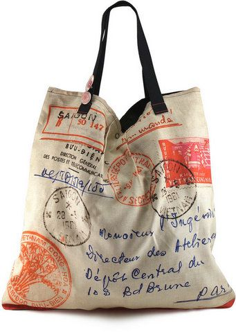 Stamps tote