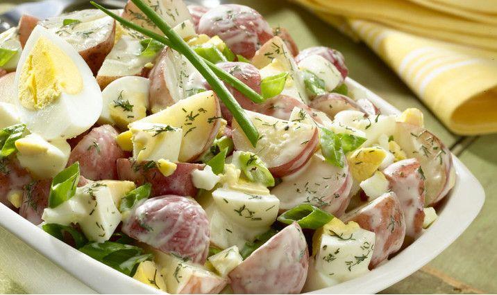 Creamy Ranch Potato Salad