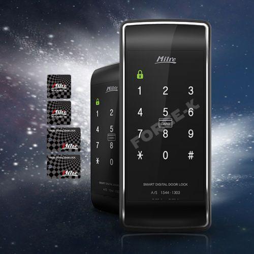 Milre-kulcsnélküli-Lock-MI-450S-Digital-doorlock-Entry-jelszóvédelem-4-RFID-kártyák-2Way