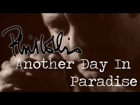 Phil Collins - Another Day In Paradise (Official Music Video) - YouTube