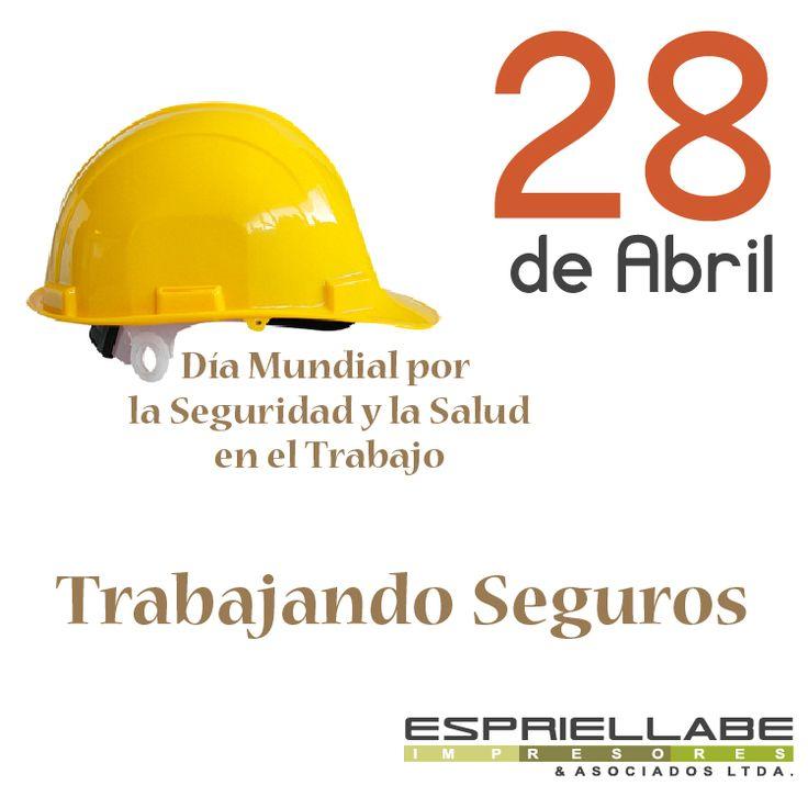 La celebración del Día Mundial de la Seguridad y la Salud en el Trabajo consiste en una campaña anual internacional para promover el trabajo seguro, saludable y decente que culmina el 28 de abril.