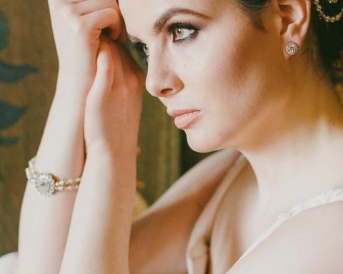 Wedding Vintage Style Pearl Bracelet, Cassie