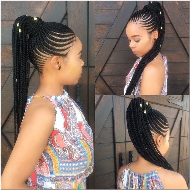 K Keitu South Africa High Ponytail Hairstyles Hair Styles Girls Hairstyles Braids