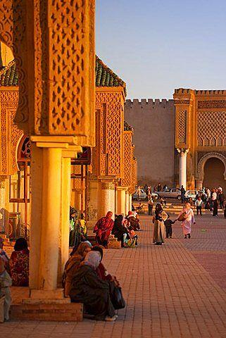 Coloque el Hedim, Meknes, patrimonio de la humanidad, Marruecos, África del Norte, África