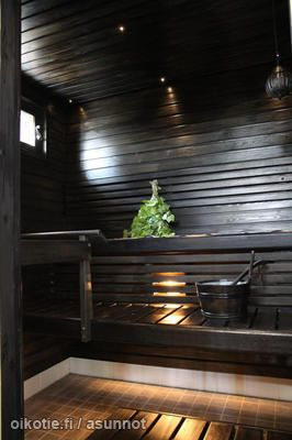 Black sauna / Musta sauna - dream home