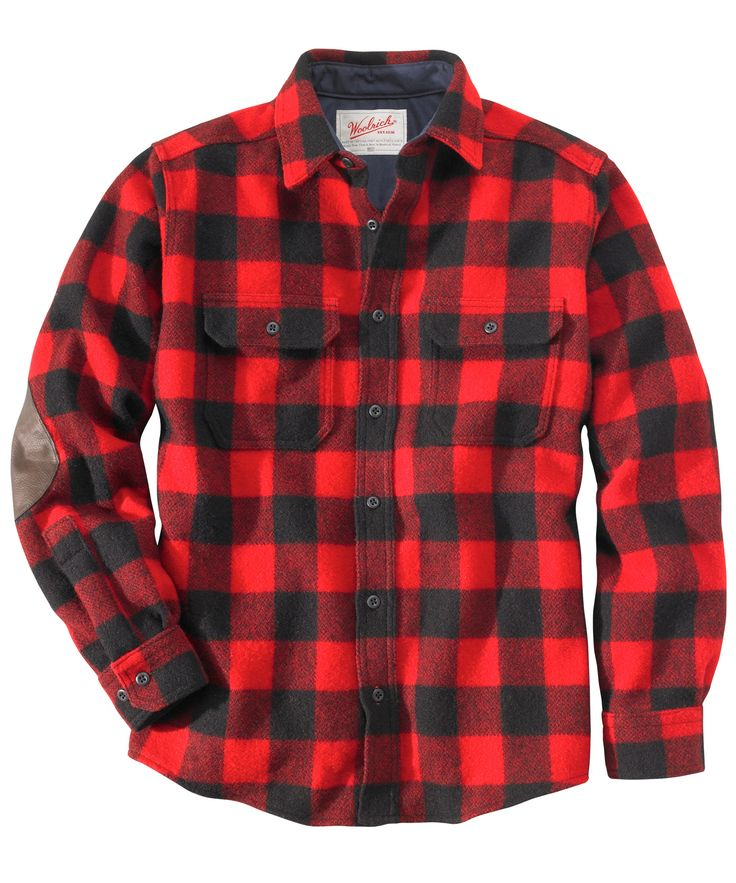 Men 39 s mill run shirt jac madeinusa buffalocheck for Buffalo check flannel shirt jacket