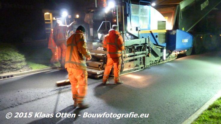 Terwijl u lekker lag te dromen vannacht is Pastoor Koopmanweg voorzien van nieuw asfalt Den Helder #debouwmaakthet