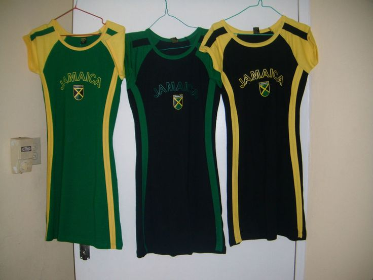 Jamaican Dresses for Women | Jamaican Colors Gasual Gear Women 039 s TS Dress 100 Cotton Size XL ...