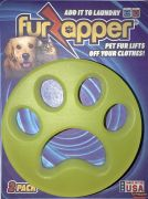 The FurZapper is a safe, re-usable, and effective pet hair remover that goes into your washer/dryer and gently removes pet hair from your clothing, Just place the FurZapper into your clothes washer during any washing cycle, and it goes to work gently removing any pet hair and lint. While effective in the washer, it works even better in the dryer- often filling up your lint trap.