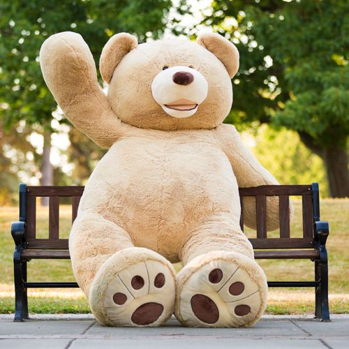 "HugFun 93"" Bear. I need this in my life."